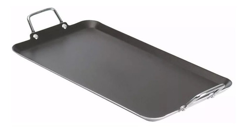 comal grande de aluminio c/antiadherente 51 cm incluye envío