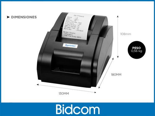 comandera impresora térmica x-printer 58 mm comercios cuotas