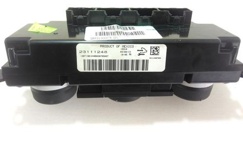 comando ar condicionado aquec banco gm captiva 20981106