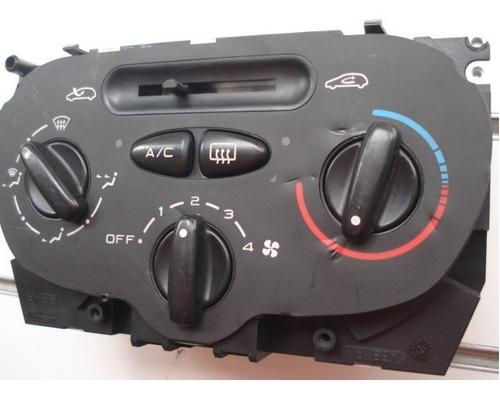 comando do ar condicionado do painel do peugeot 206