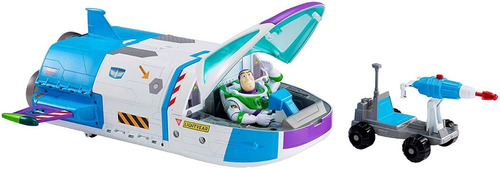 comando estelar nave espacial buzz light year toy story 50cm