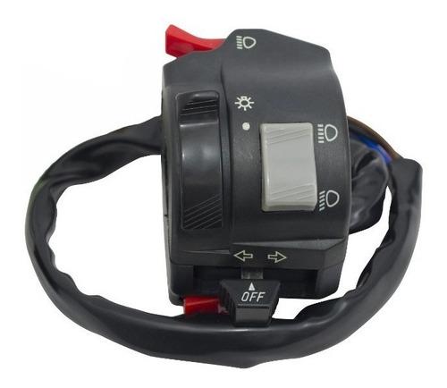 comando luces izquierdo original p/ yamaha ybr 125 f yuhmak