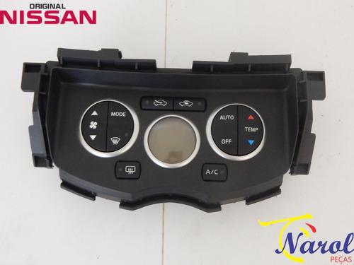 comando painel controle ar condicionado nissan livina