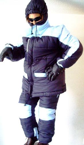 comando traje suit para nieve termico bajo cero alta montaña