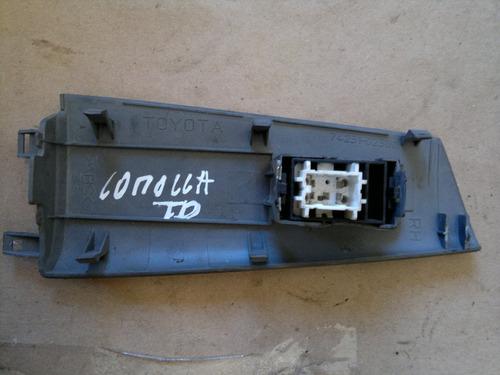 comando vidro elétrico corolla 03 a 08 diant. dir. c/ moldur