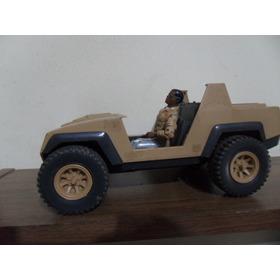 Comandos Ação Doc Médico+ Jeep Guincho Estrela Gijoe 1985