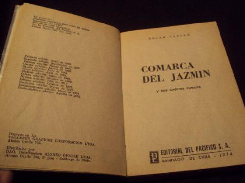 comarca del jazmin, oscar castro