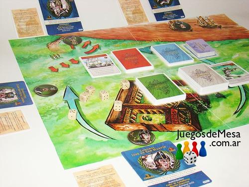 combate de san lorenzo 2da edición - juego cooperativo