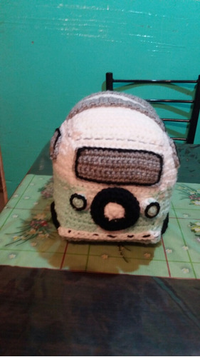 combi volswagen clasica en crochet