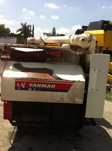 combinada / cosechadora de arroz yanmar ca385