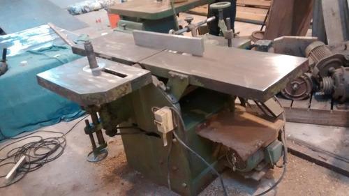 combinada de 40 pesada - jfr maquinas - carpintería - madera