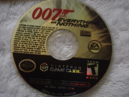 combo 007 nintendo gamecube y wii