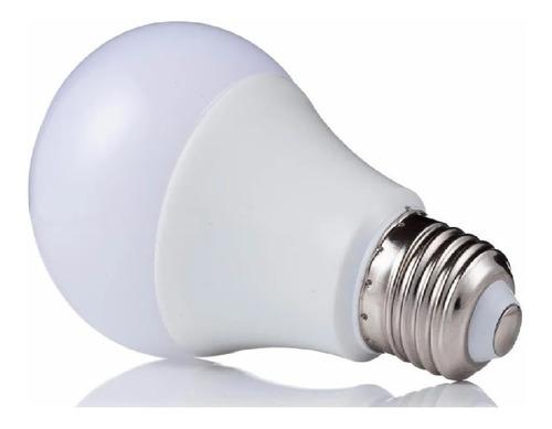 combo 10 lamparas led 9w blanco frio rosca e27 bajo consumo