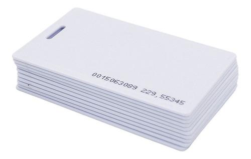 combo 10 tarjetas de proximidad numeradas