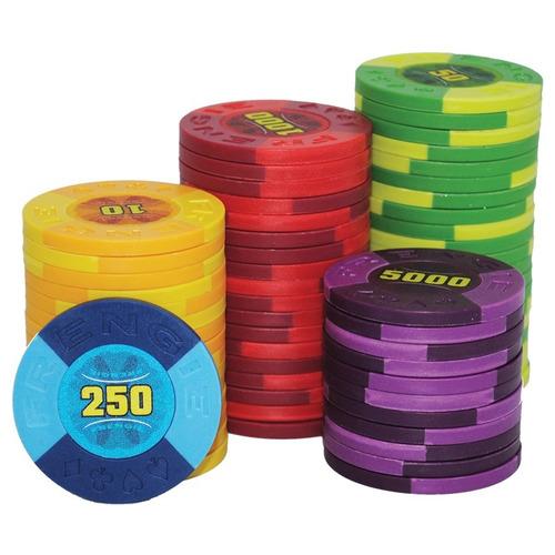 combo 100 fichas frengie poker casino y baraja bicycle