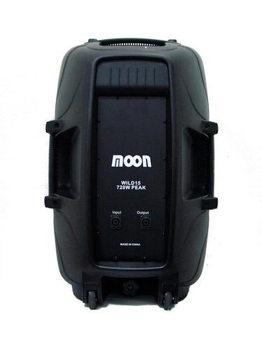 combo 12 cuotas moon potencia 1200w columna subwoofer bafles