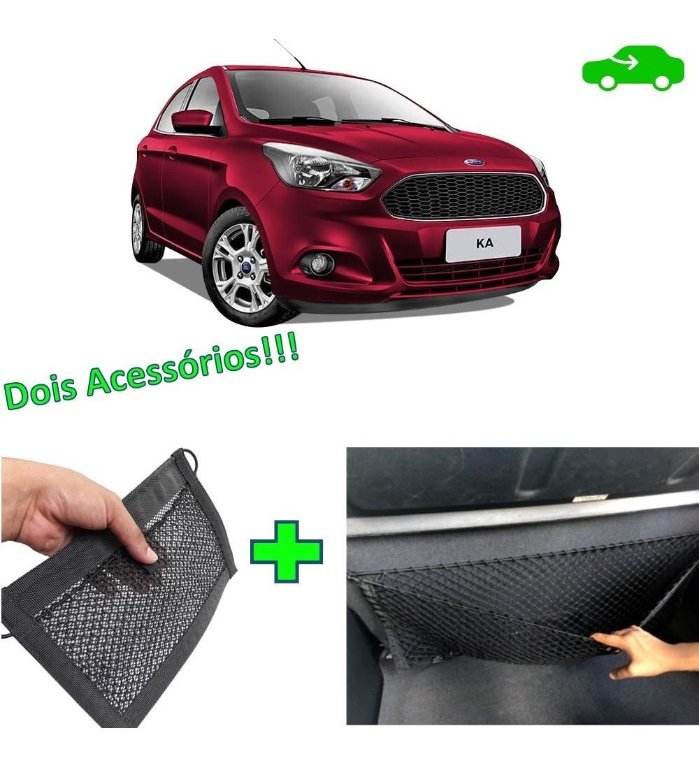 Combo 2 Acessorios Rede Porta Objetos Malas Ford Ka Hatch R 114 90 Em Mercado Livre