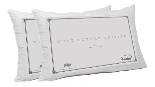 combo 2 almohadas nube luxury edition 90x40