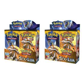 Combo 2 Caixas Lacradas Box Booster Sol E Lua 1 Copag