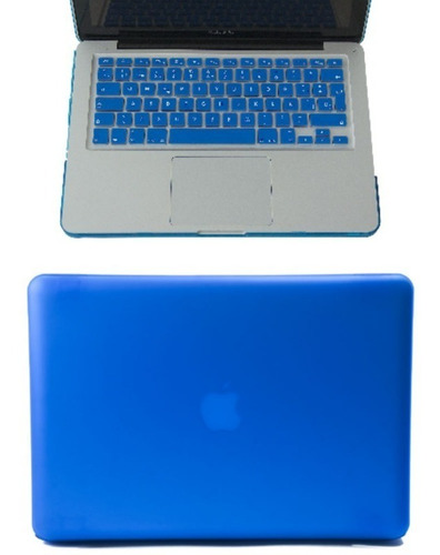 combo 2 en 1 case funda mica pantalla macbook pro air 13