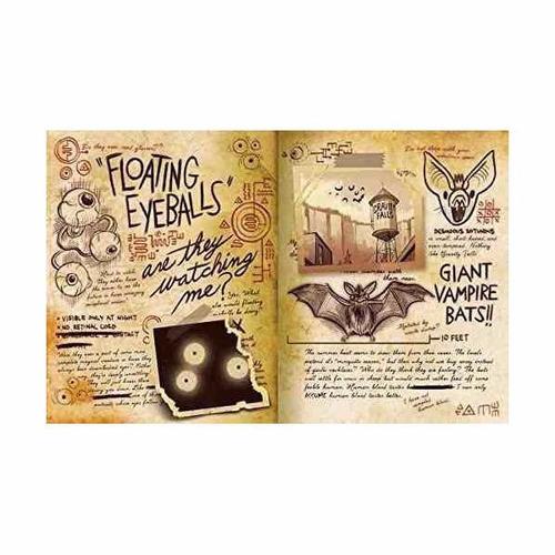 combo 2 en 1 gravity falls (diario+libro) original importado