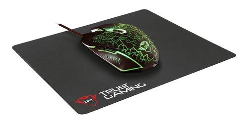 combo 2 en 1 - mouse+pad mouse gamer trust gxt 783