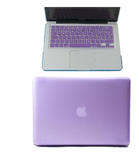 combo 2 en 1 protector case macbook + teclado