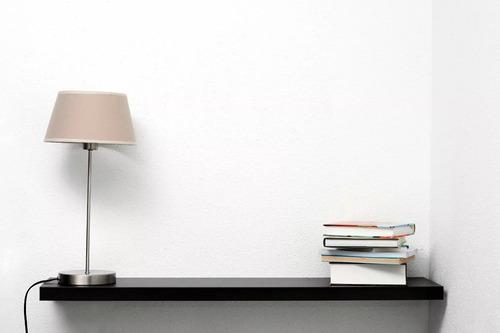 combo 2 estantes flotantes 90x18cm blanco ménsula invisible