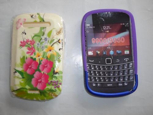 combo 2 estuches blackberry 9900, 9930