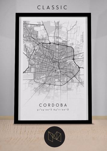 combo 2 mapas de ciudad a elección 50 x 70 cm