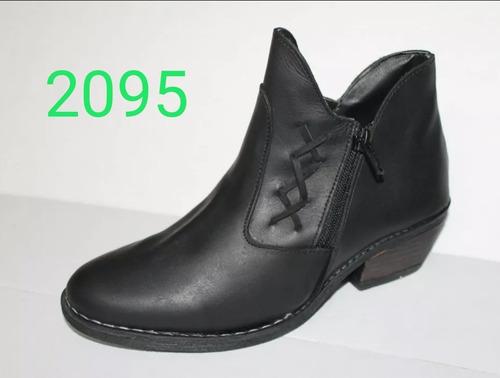 combo 2 pares de botas texanas cuero legítimo