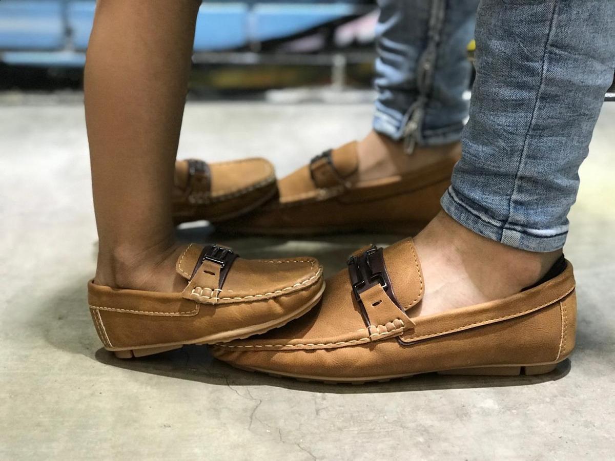4313f784ebde Combo 2 Pares Zapatos Mocasines Papá E Hijo Envió Gratis