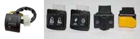 combo 2 plasticos guerrero trip 110 negro - 2r