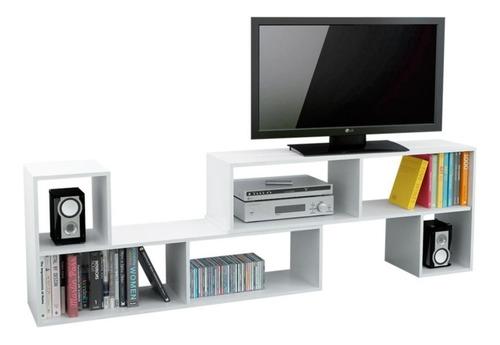 combo 2 rack tv led smart mueble mesa reforzado modular lcd