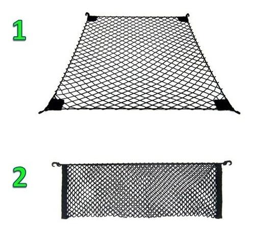 combo 2 redes carga saveiro cs (1 cargo bag e 1 trava carga)