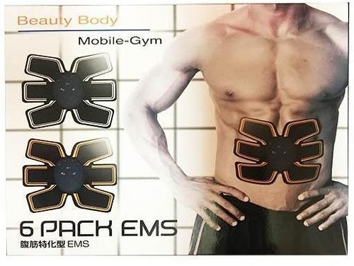 combo 2 six 6 pack ems beauty body mobile gym pasiva 2 x 1
