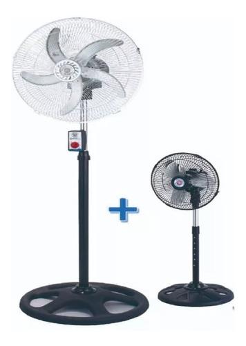 combo 2 ventiladores de 18   y 10  pie pared y turbo aire