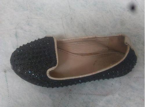 combo 2 zapatilla negro y marrón* niñas