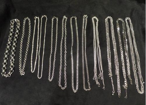 combo 20 cadenas acero quirugico x mayor ideal reventa