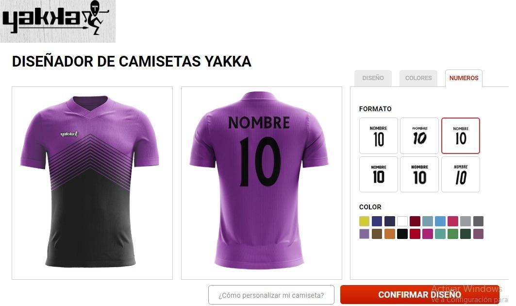 5af0a6478 Combo 20 Camisetas De Futbol Y Shorts Personalizados Yakka ...