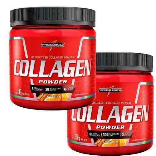 Combo 2x Collagen Powder 300g - Integralmedica - R  90 eeaf5d4d6c7fd