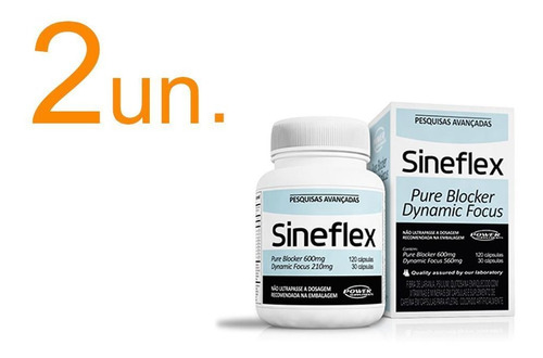 combo 2x sineflex (150 caps) - power supplements