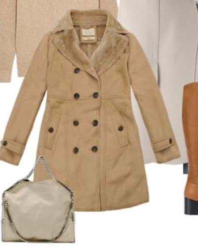 combo 3  abrigos para mujer diseño acinturado roosevelt