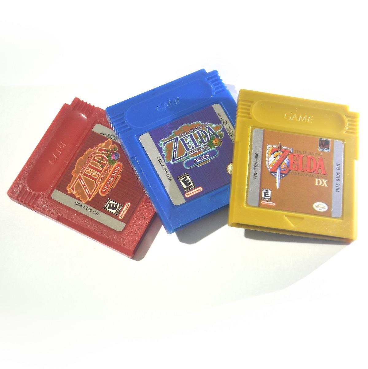 Combo 3 Juegos De Zelda Para Gbc Y Gba Ingles