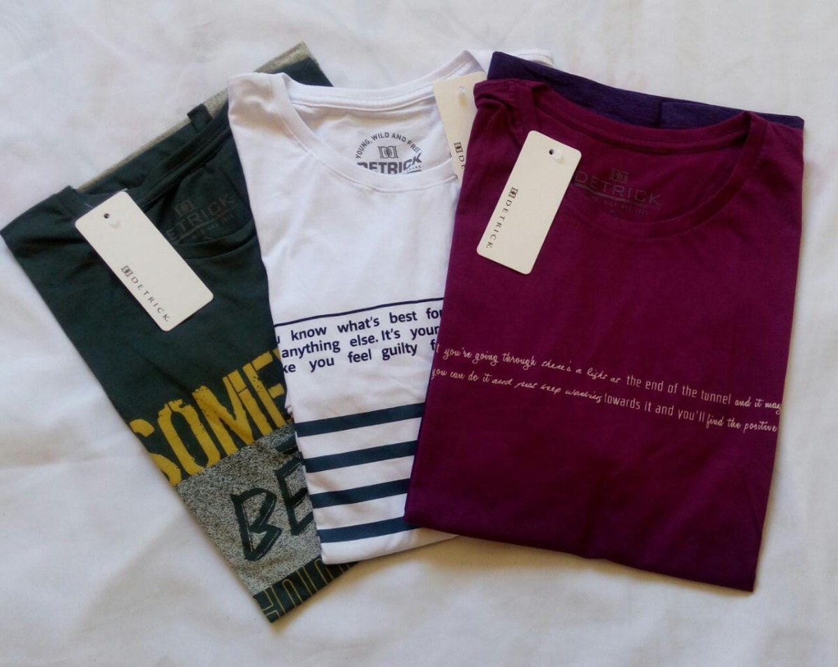 053292c243fe7 combo 3 lindas camisetas estampadas masc ad manga curta. Carregando zoom.