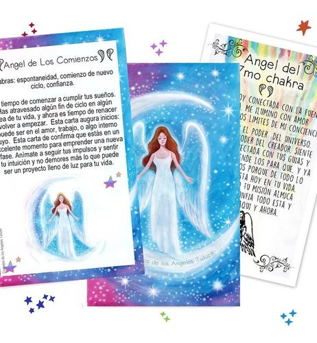 combo 3 mazos cartas oráculos reiki®+arcángeles®+ángeles®tul