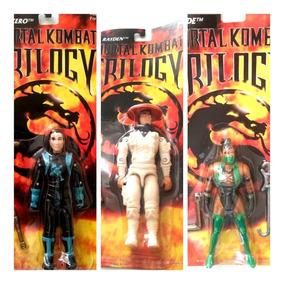 3 Kombat 1996 Muñecos Island Combo Mortal TrilogyToy BoCerxd