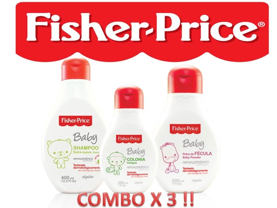 cd6bc328c Combo 3 Productos Fisher Price Sh + Fecula + Colonia - $ 140,00 en ...