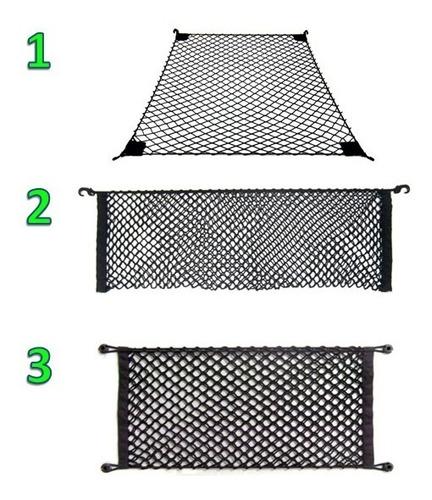 combo 3 redes carga saveiro cs (2 p/ caçamba e 1 p/ cabine)