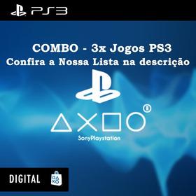 [combo] 3x Jogos De Ps3 - Psn Digital - Confira Lista